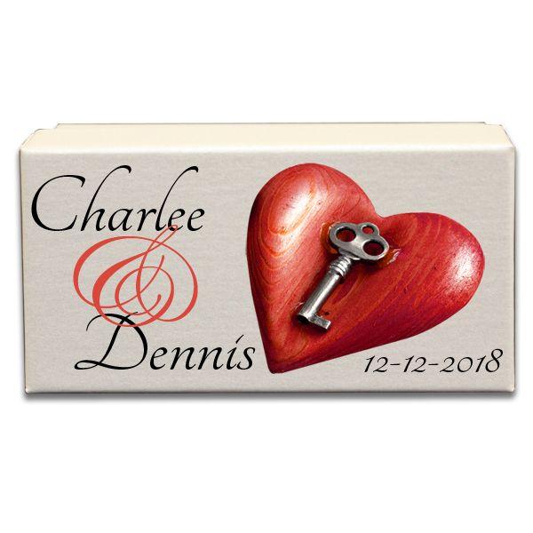 Key To The Heart Wedding Gift Box