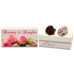 Beautiful Pink Roses Wedding Gift Box