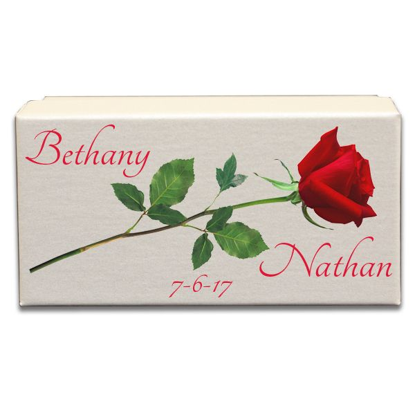 Red Rose Wedding Gift Box