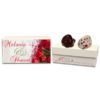 Beautiful Red Roses Wedding Gift Box