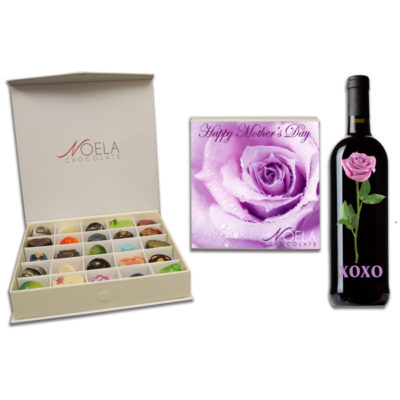 mothers day purple rose box