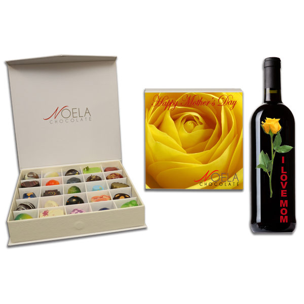 mothers day yellow rose box