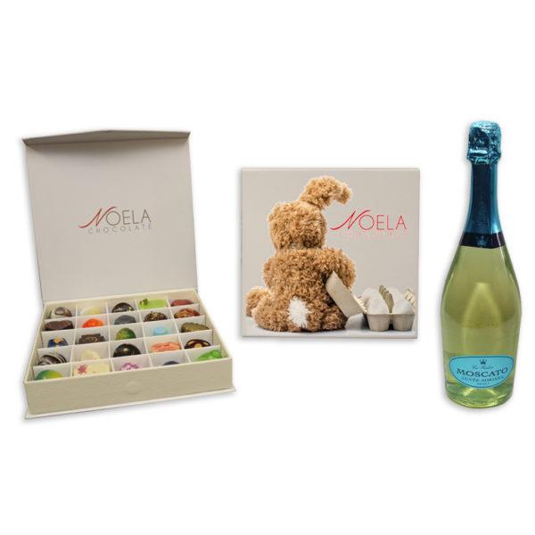 Bunny Design with Wine